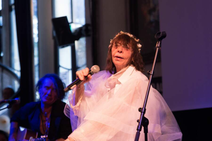 Brigitte Fontaine aux 10 ans des Femen