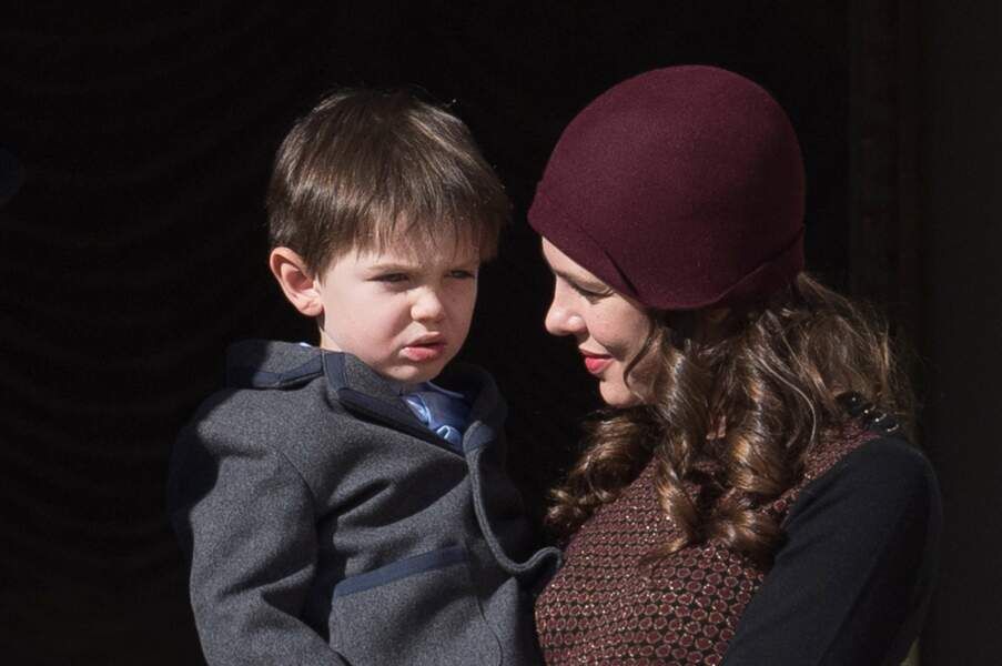 Charlotte Casiraghi et son fils RaphaëlElmaleh
