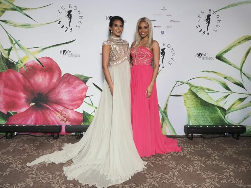 Alicia Aylies y a posé aux côtés de Vaimalama Chaves, la Miss France 2019