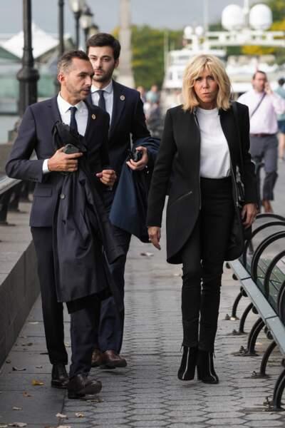 Brigitte Macron se promène dans les rues de New York