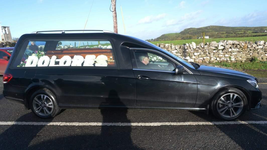 Le cercueil de Dolores O'Riordan
