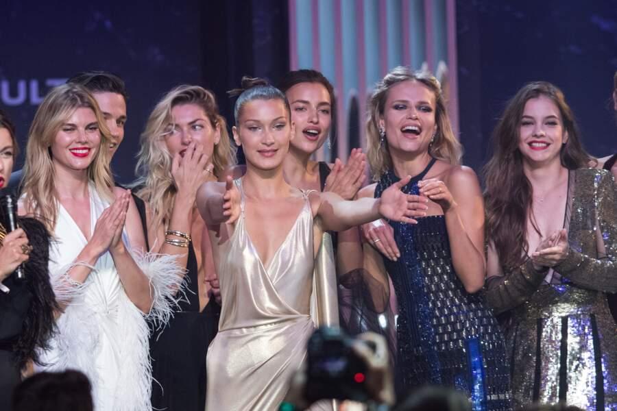 Maryna Linchuk, Jessica Hart, Bella Hadid, Irina Shayk, Natasha Poly, Barbara Palvin