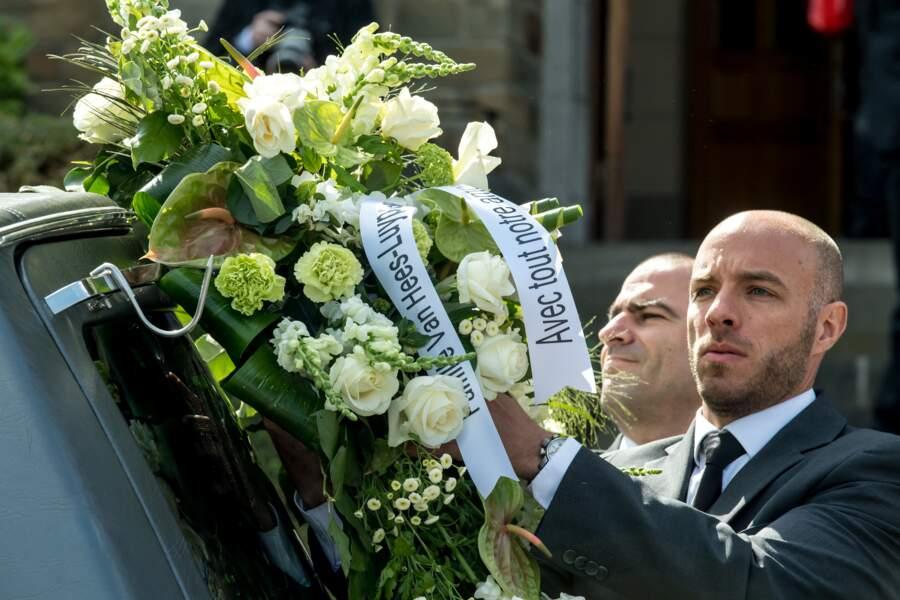 Obsèques de Maurane : les fleurs