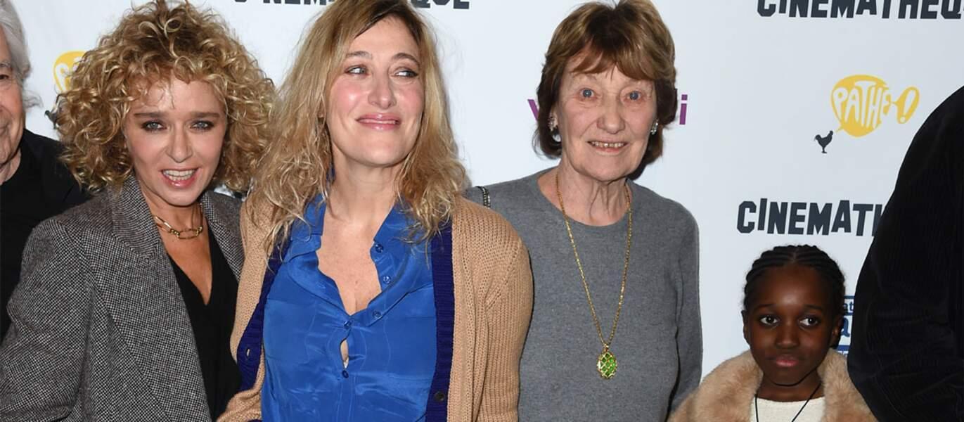 Valeria Bruni Tedeschi, réalisatrice, fait tourner pour la première fois sa fille adoptée, Oumy Bruni Garrel.