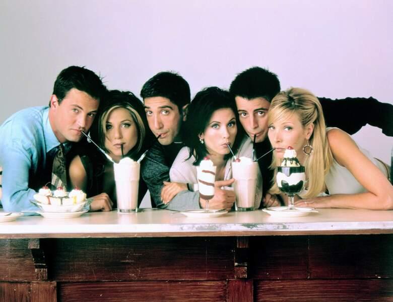 Années 2000 : Jennifer Aniston devient célèbre avec la série Friends