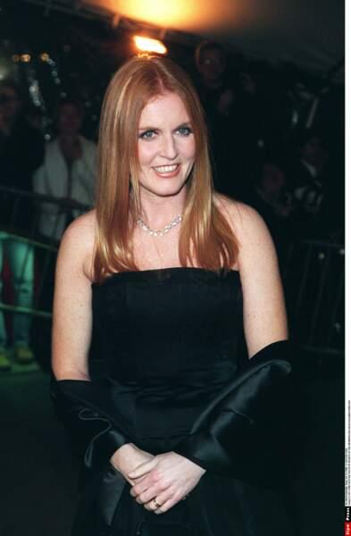 Sarah Ferguson très élégante au Met Gala en 1998