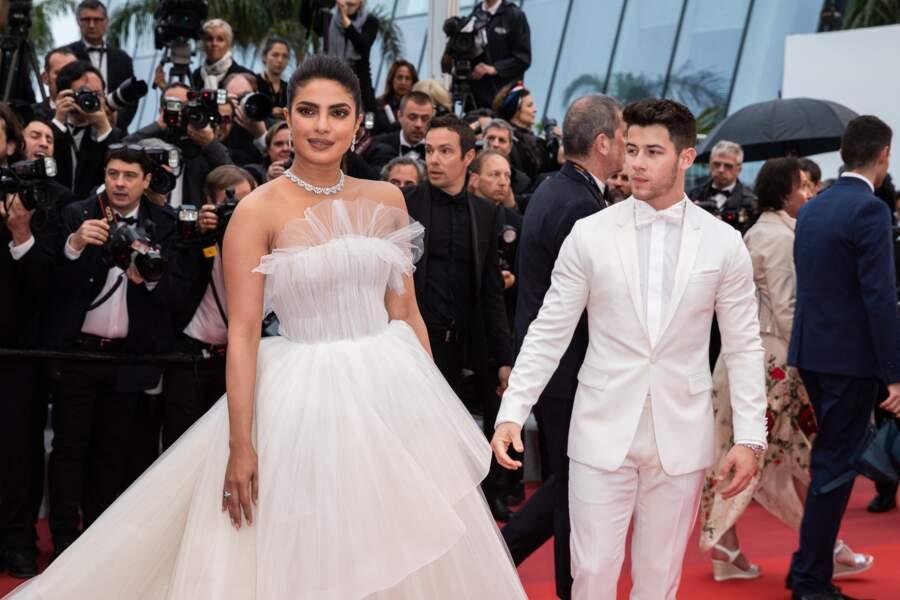 Priyanka Chopra portait une robe Georges Hobeika