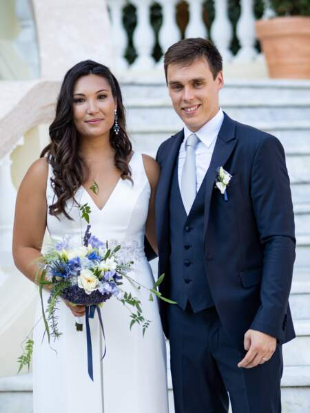 Louis Ducruet et Marie Chevallier se sont mariés civilement ce vendredi 26 juillet