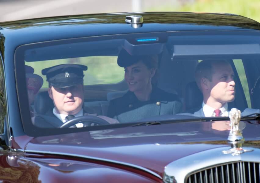 Kate Middleton arborait un sourire radieux