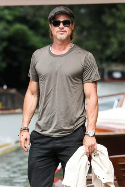 Brad Pitt très attendu à la 76ème édition de la Mostra de Venise, le 28 août 2019.