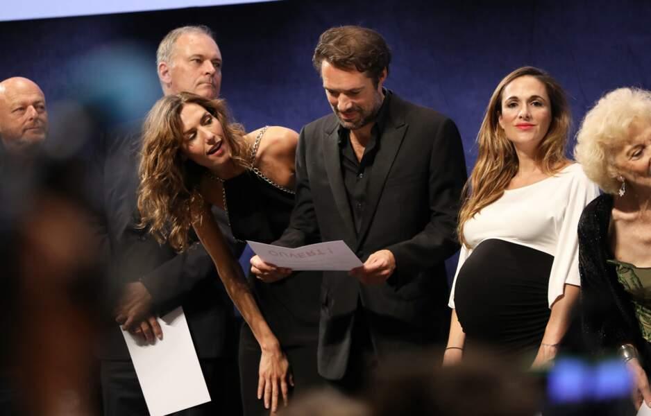Victoria Bedos et Nicolas Bedos ont présenté La Belle Epoque à la Halle Tony Garnier, à Lyon