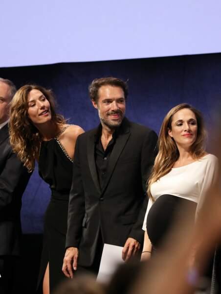Victoria Bedos est montée sur scène en compagnie des acteurs du film