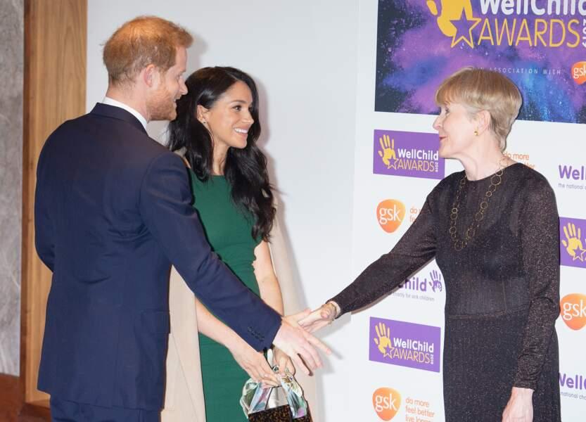 Meghan Markle et le prince Harry à la soirée des WellChild Awards.