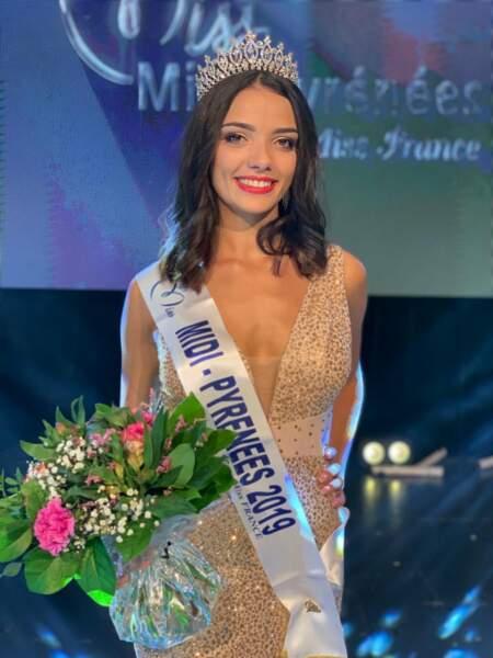 Andréa Magalhaes élue Miss Midi-Pyrénées 2019 pour Miss France 2020 !