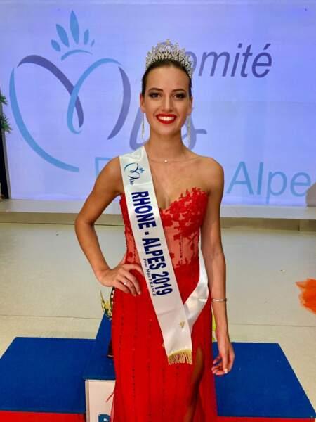 Chloé Prost élue Miss Rhône-Alpes 2019 pour Miss France 2020 !