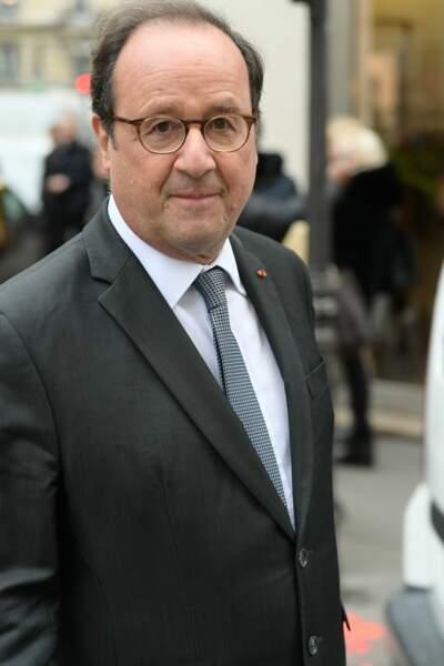 François Hollande, ému lors des obsèques de l'acteur de Profilage, Jean-Michel Martial