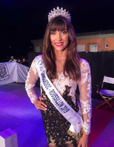 Lucie Caussanel élue  Miss Languedoc-Roussillon 2019 pour Miss France 2020 !