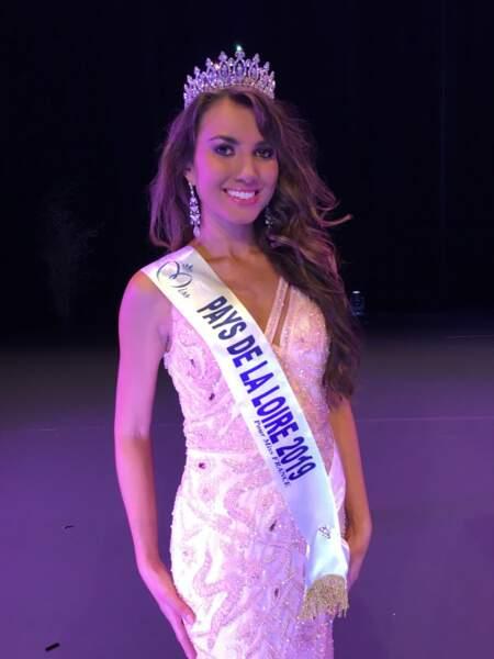 Yvana Cartaud élue Miss Pays de La Loire 2019 pour Miss France 2020 !