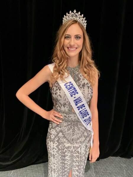 Jade Simon-Abadie élue Miss Centre-Val de Loire 2019 pour Miss France 2020 !
