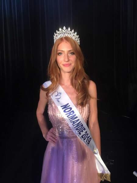 Marine Clautour élue Miss Normandie 2019 pour Miss France 2020 !