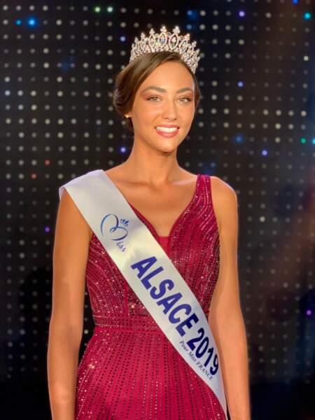 Laura Theodori élue Miss Alsace 2019 pour Miss France 2020 !