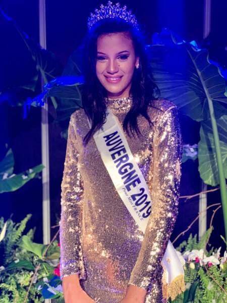 Meissa Ameur élue Miss Auvergne 2019 pour Miss France 2020 !