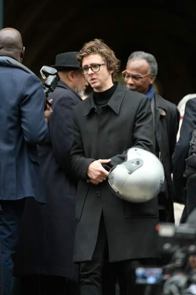 Le comédien Thomas Solivérès a également tenu à rendre un dernier hommage à Jean-Michel Martial