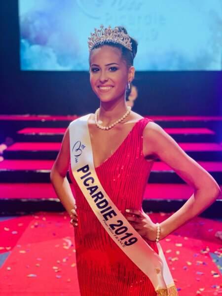 Morgane Fradon élue Miss Picardie 2019 pour Miss France 2020 !