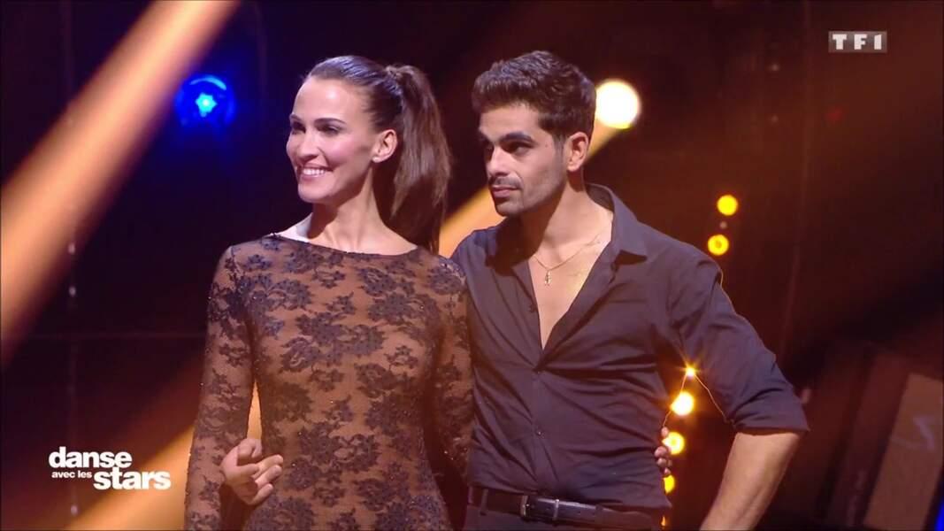 Elle a également remercié le danseur Christophe, « un partenaire de folie ! »