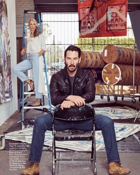 Keanu Reeves et Alexandra Grant ont créé leur propre maison d'édition nommée X Artists' Books