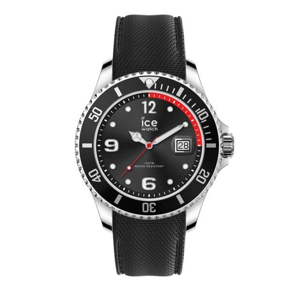 Montre Ice steel black, 119 €, Ice-Watch