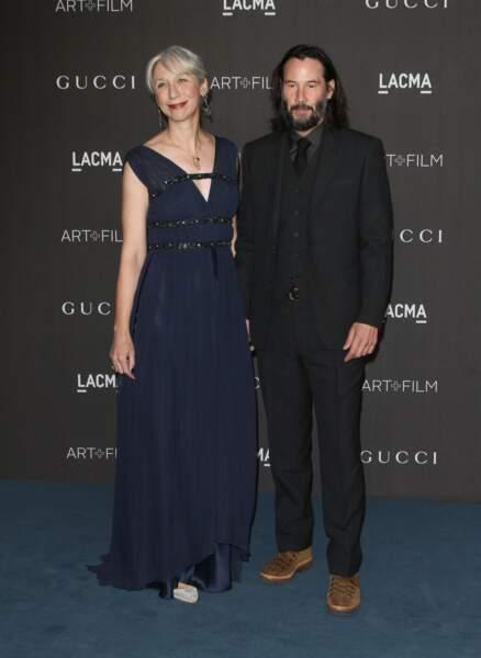 Keanu Reeves a officialisé sa relation avec cette artiste de 46 ans