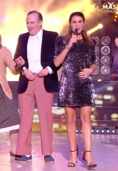 Ce jeudi 7 novembre, Karine Ferri présentait les quarts de finale de Danse avec les stars sur TF1