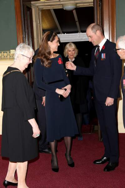 Le prince William et Kate Middleton, très élégants pour la cérémonie du Remembrance Day