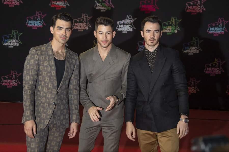 Les Jonas Brothers tous les trois présents aux NRJ Music Awards 2019