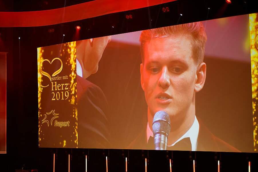 Mick Schumacher au Gala du bal allemand de la presse sportive