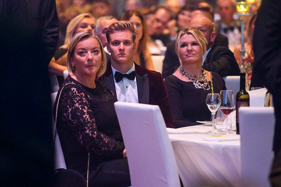 Sabine Kehm, Mick Schumacher et sa mère Corinna Schumacher