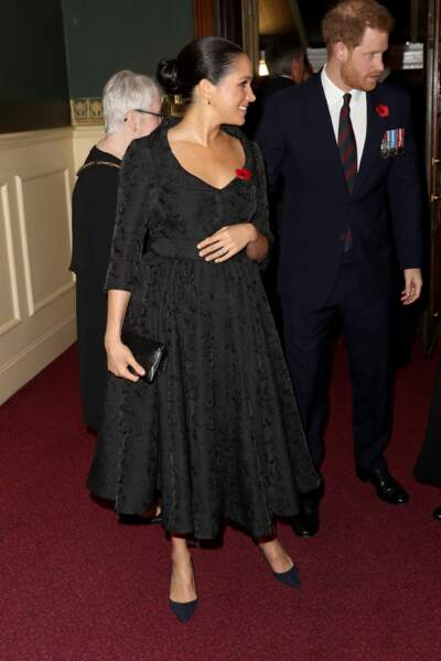 Meghan Markle et le prince Harry, tous les deux très élégants