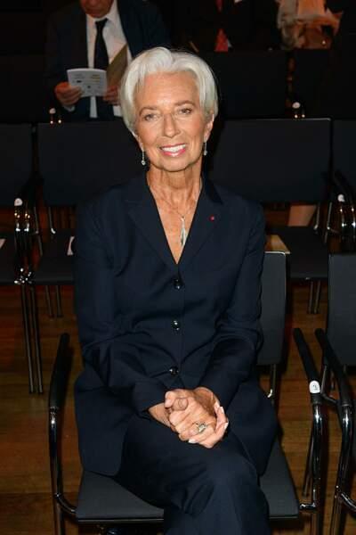La coupe courte hyper stylée de Christine Lagarde.