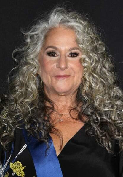 Marta Kauffman adepte du silver hair.
