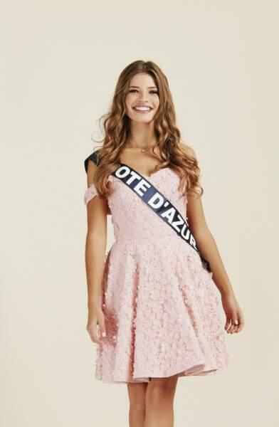 Miss Côte d'Azur 2019 : Manelle Souahlia