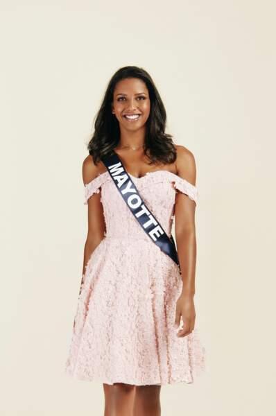 Miss Mayotte 2019 : Eva Labourdere