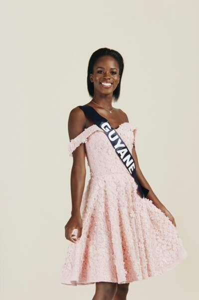 Miss Guyane 2019 : Dariana Abe