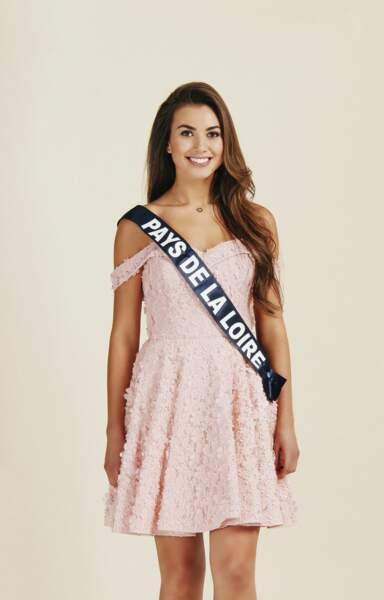 Miss Pays de La Loire 2019 : Yvana Cartaud