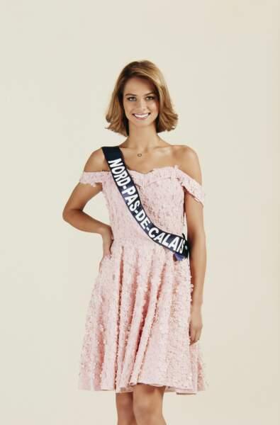 Miss Nord-Pas-de-Calais 2019 : Florentine Somers