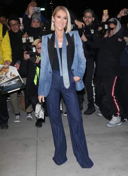 Céline Dion adore les tenues et le style du créateur Ronald Van Der Kemp.