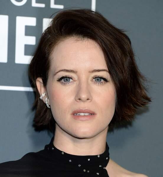 Claire Foy, actrice jouant le rôle de la reine Elizabeth II, dan la série The Crown.