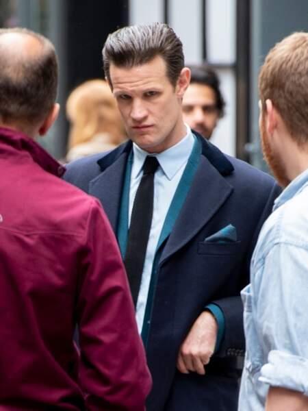 Matt Smith l'interprète du Prince Philip dans The Crown.