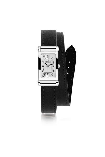 Montre Antarès à bracelet interchangeable, 550 €, Michel Herbelin