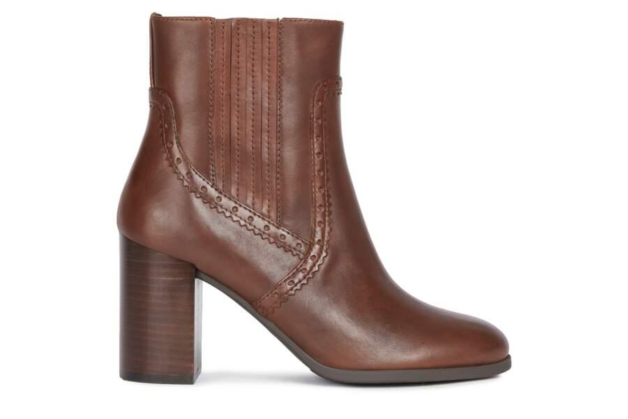 Boots en cuir, 145 €, Geox